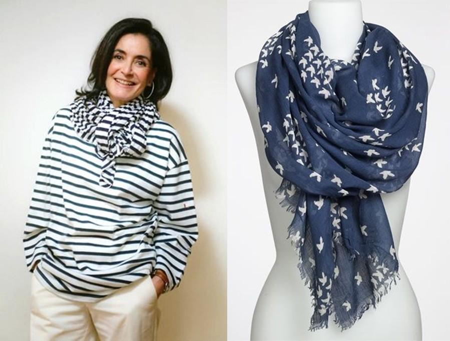 20 dicas de como usar os lenços no  pescoço