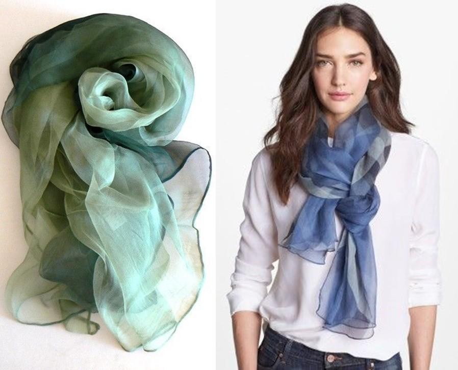 20 modelos de lenços para usar no pescoço