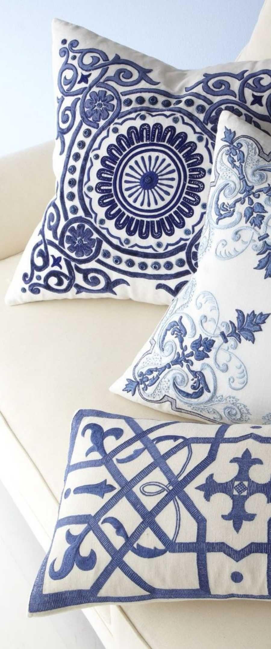 14 ideias de decoração com almofadas