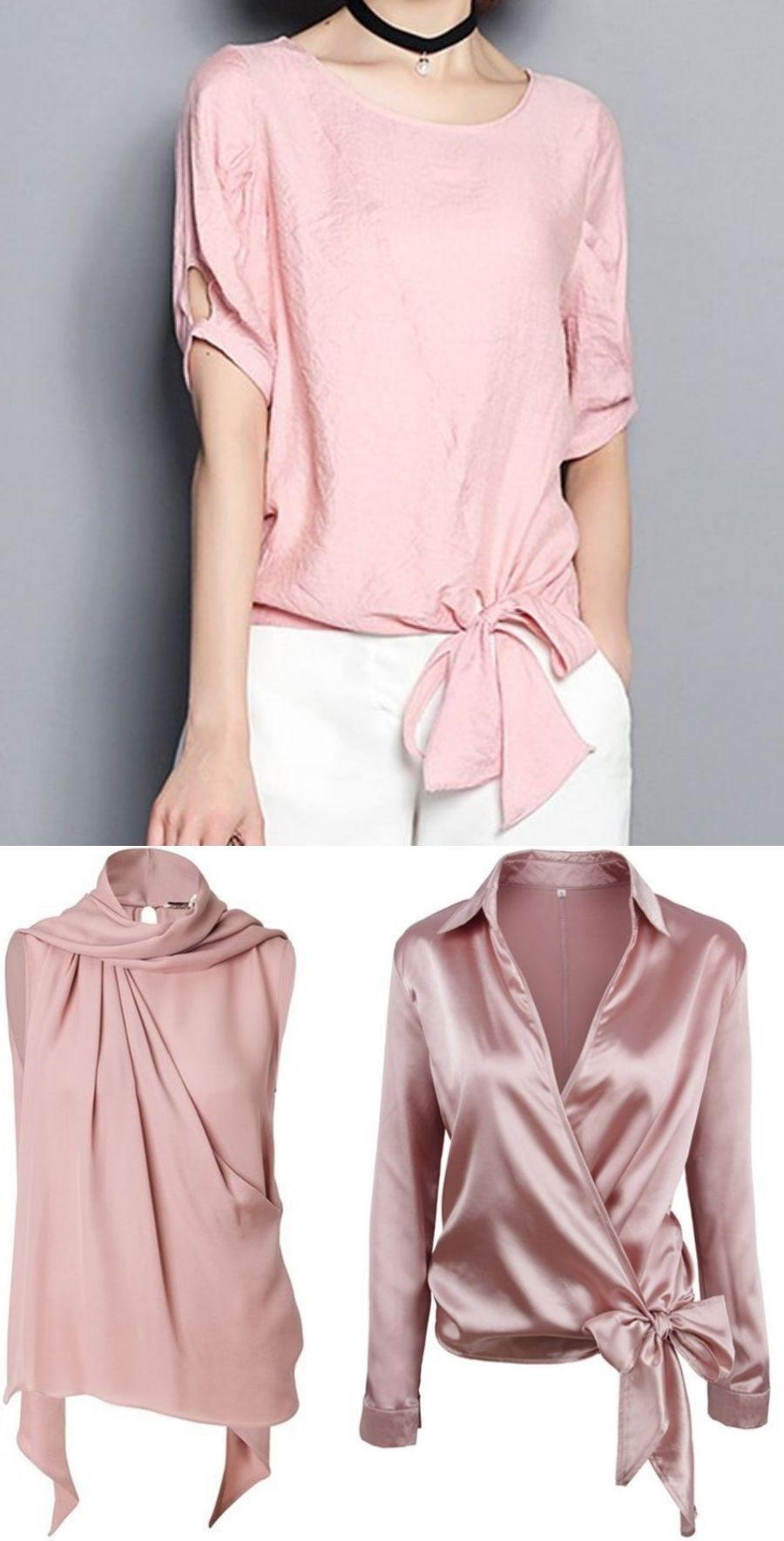 Moda anti-idade: Primavera romântica - Blusinha rosé