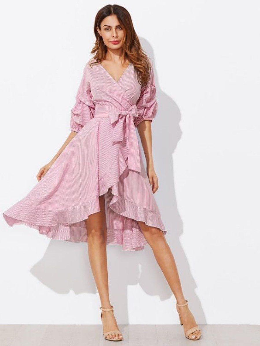 Moda anti-idade: Primavera romântica - vestido rodado rosé