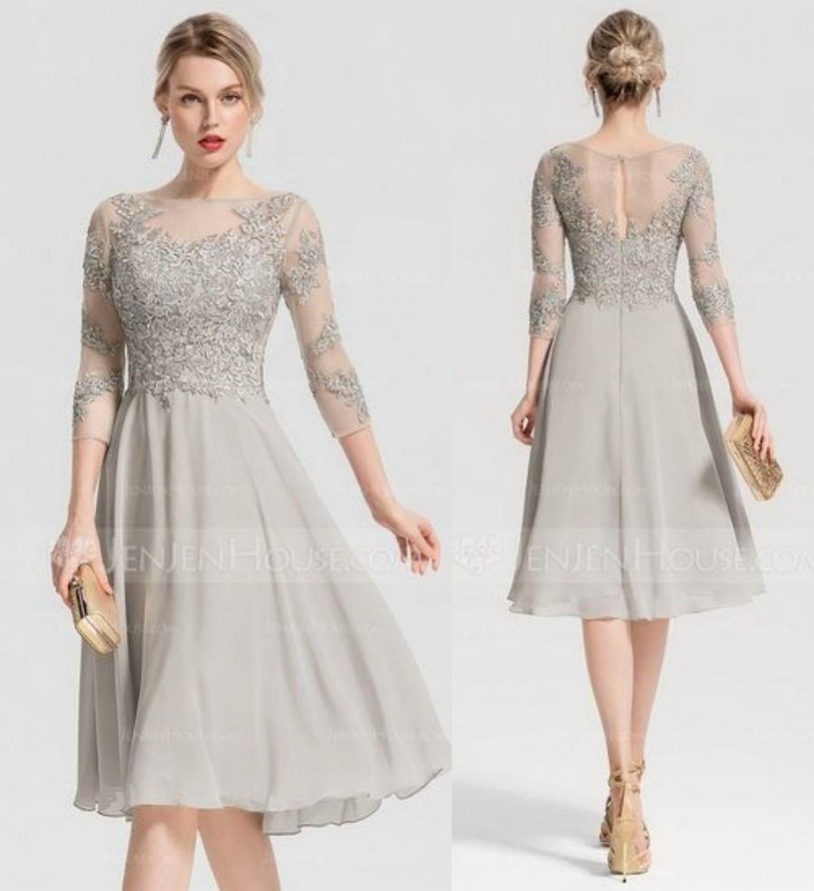 Vestido para usar em bodas de prata