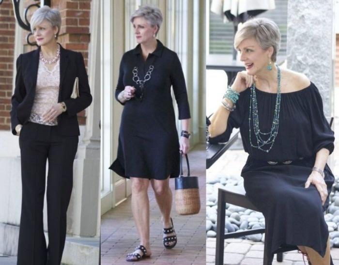 377dde25c Moda anti-idade: Roupa preta sempre na moda ⋆ De Frente Para O Mar
