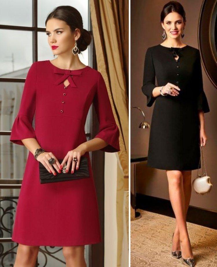Moda anti-idade: Vestidos outonais para senhoras