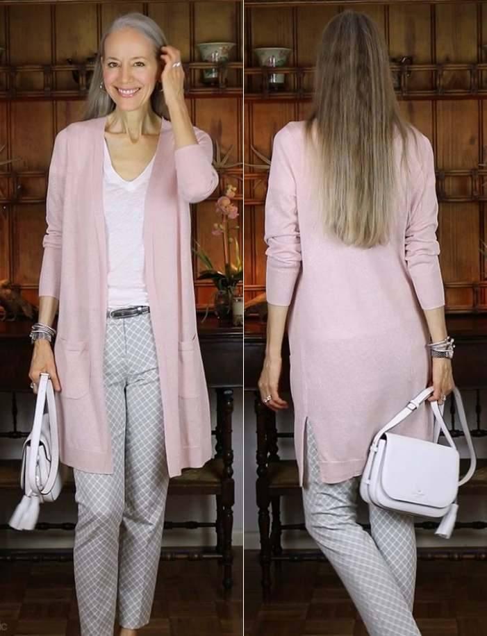 Moda anti-idade : Moda rosé para senhoras