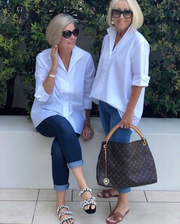 Moda anti-idade:  31 dicas de como combinar o azul