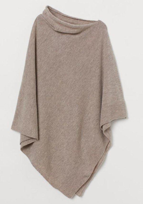 Moda anti-idade: Aqueça-se com um poncho no inverno