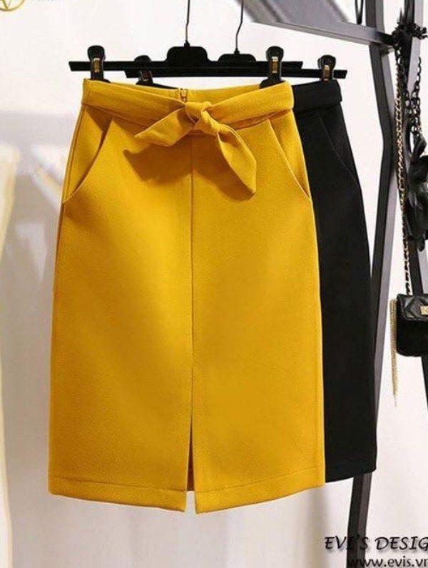 Tipos de saia: reta e lápis