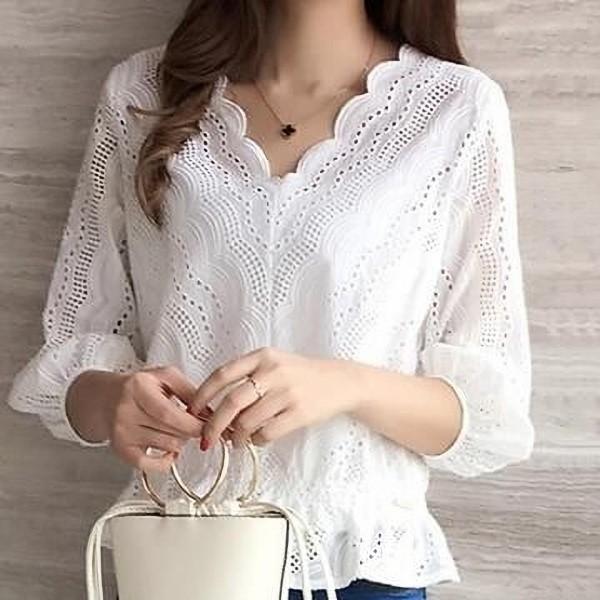 Moda anti-idade: A blusa de laise está de volta!