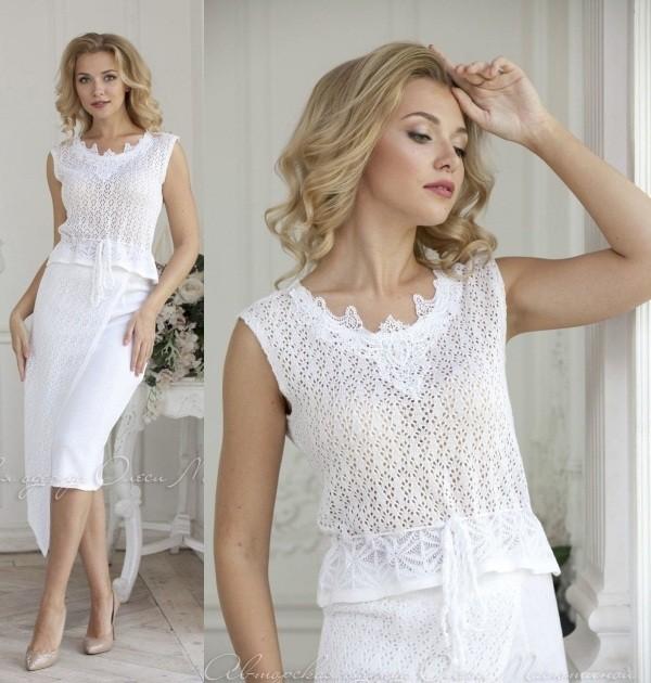 Moda anti-idade: Saia e blusa tricot, pura elegância!