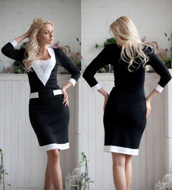 O conforto e a elegância do vestido de malha tricot