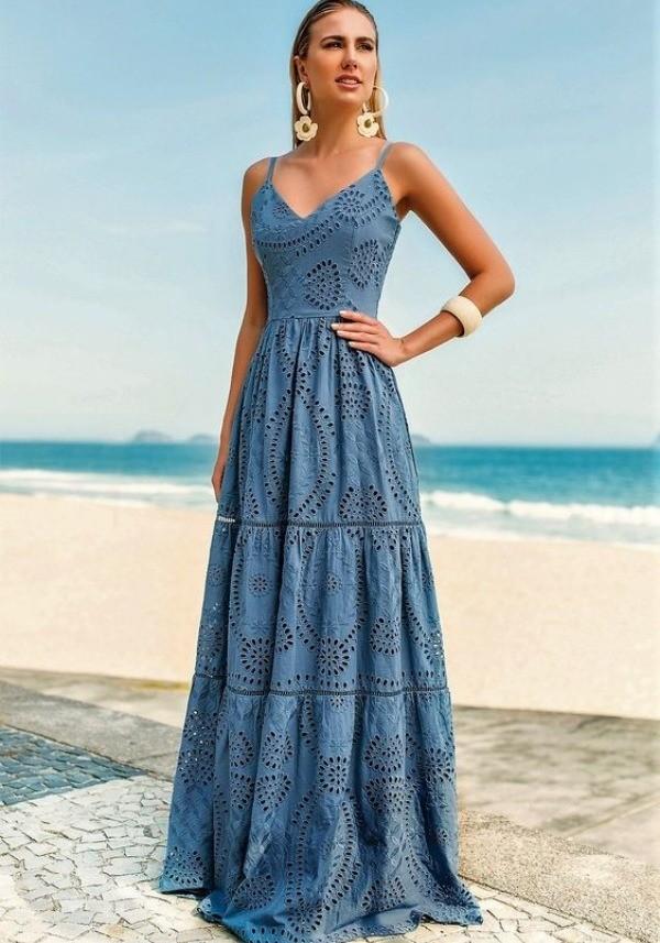 23 Vestidos em laise refrescantes para o verão