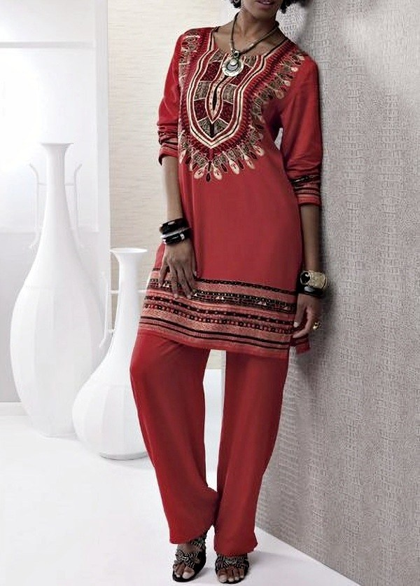 A moda alto astral das estampas étnicas