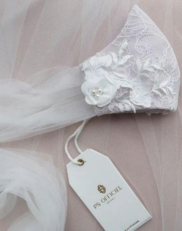 50 Modelos de máscara facial para cerimônia de casamento