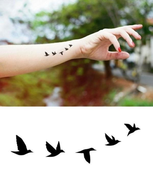 62 ideias de mini tatuagem na terceira idade, mini tatoos