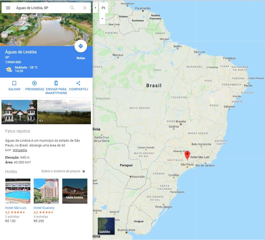 aguas de lindoia-sp-brazil-maps