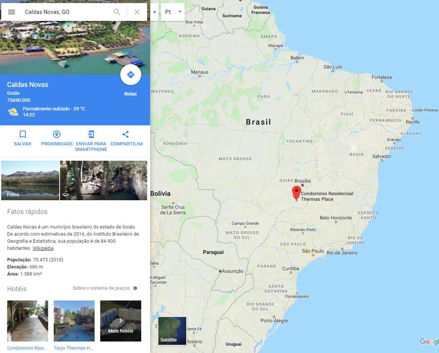 caldas-novas-go-brazil-maps