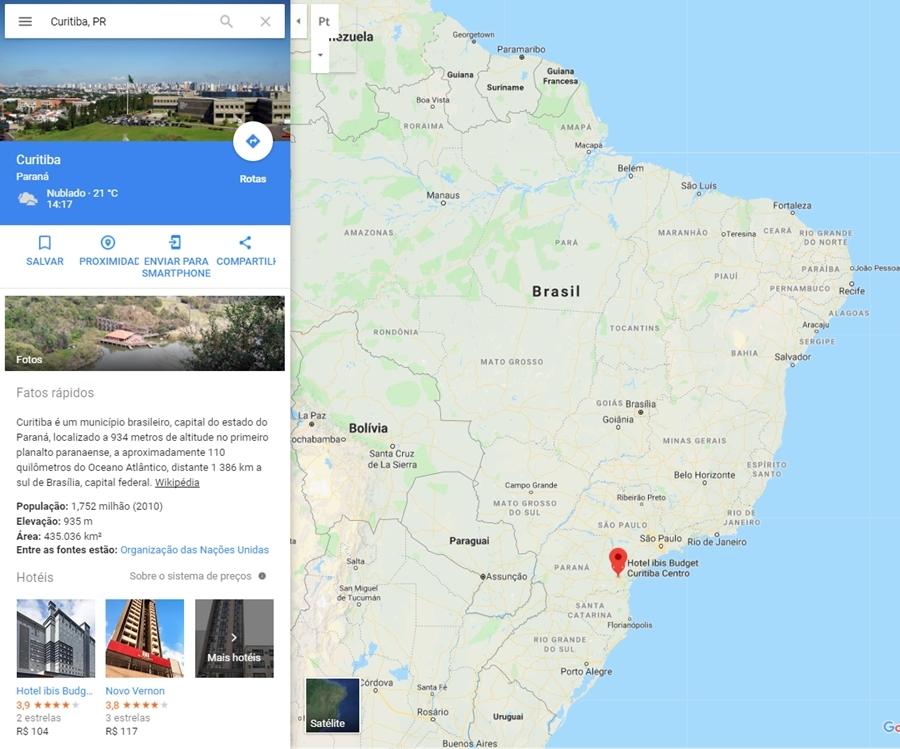 5 Destinos Nacionais para Terceira Idade - Curitiba, PR