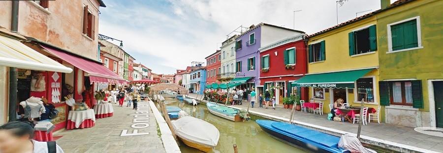 Italia, Veneza , Burano