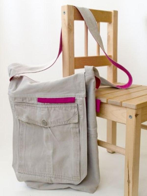 Recicle, refaça e reuse - 19 ideias de bolsa de jeans reciclado