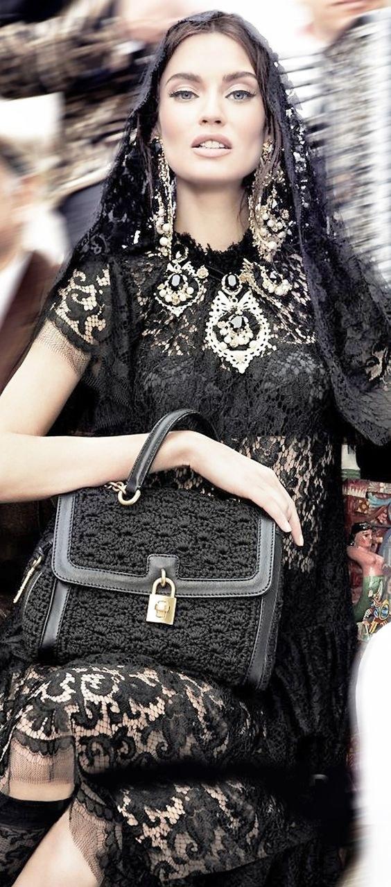 Faça você mesma uma bolsa de grife em crochê Dolce Gabbana
