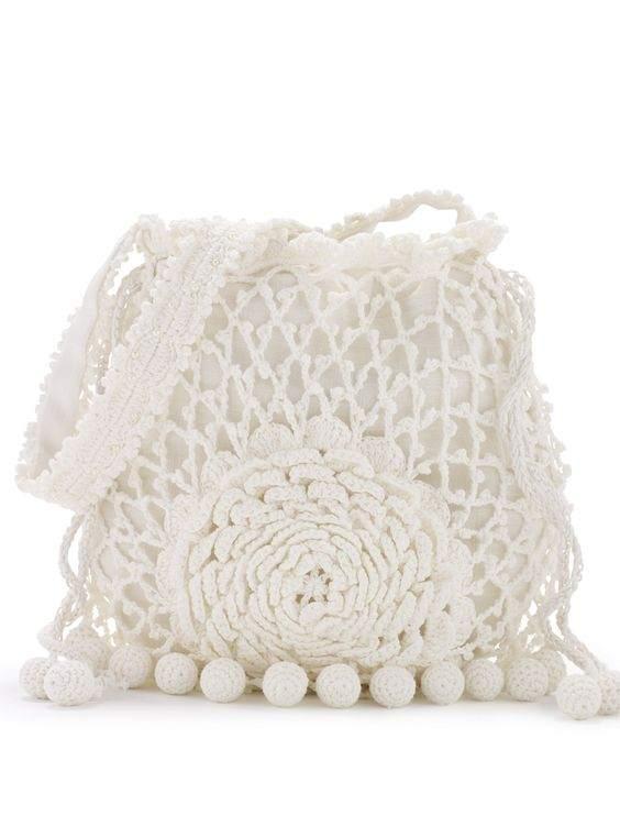 DIY - bolsa de grife em crochê de Ralph Lauren