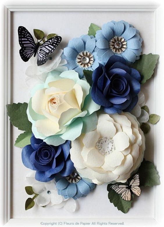 DIY - flores gigantes de papel