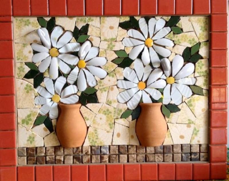 Técnica francesa de mosaico , picassiette