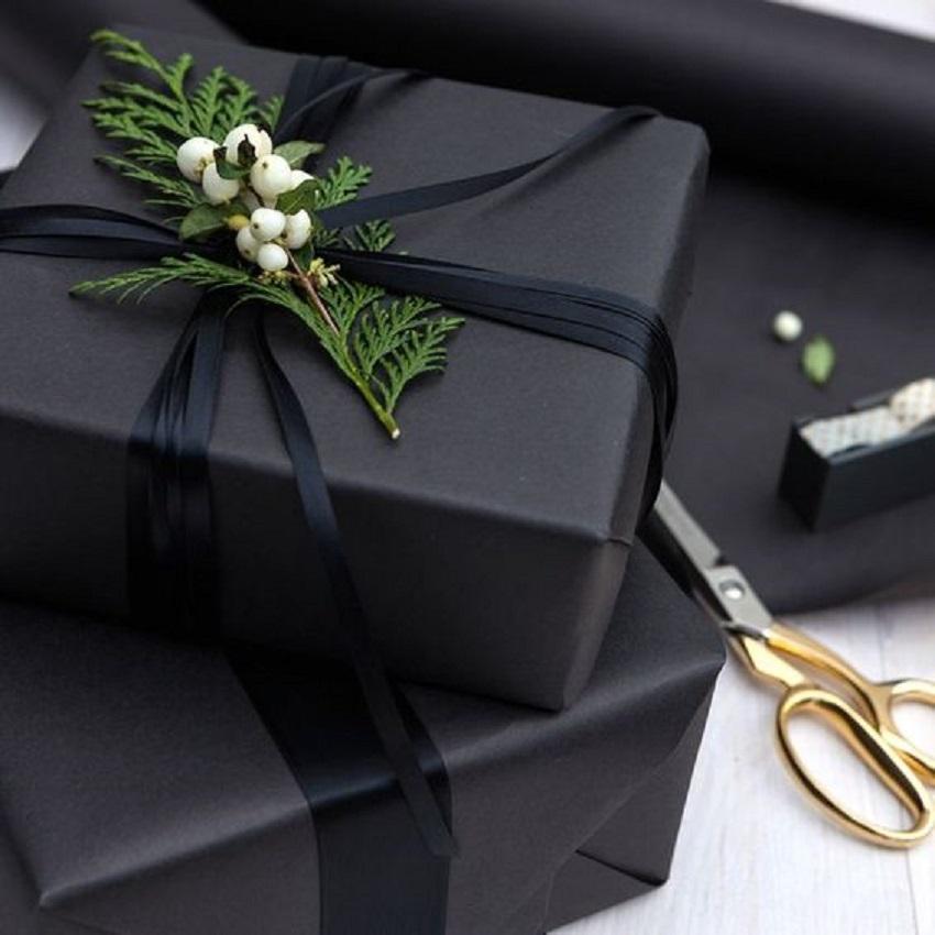 Diy Como Embrulhar Presentes De Natal De Frente Para O Mar