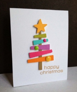 DIY- Faça você mesmo - cartão de Natal