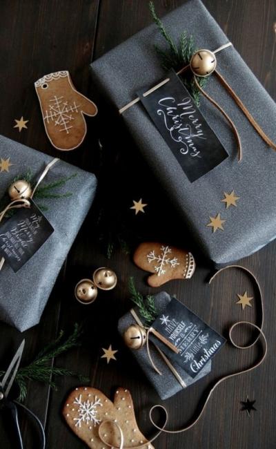 DIY- Faça você mesmo - como embrulhar presentes de Natal