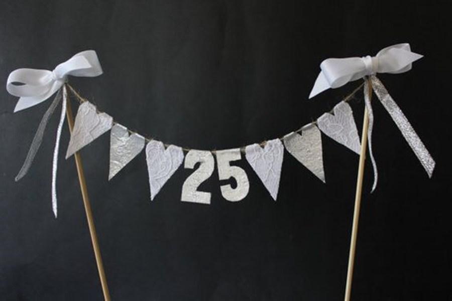 decoración de la fiesta de bodas de plata