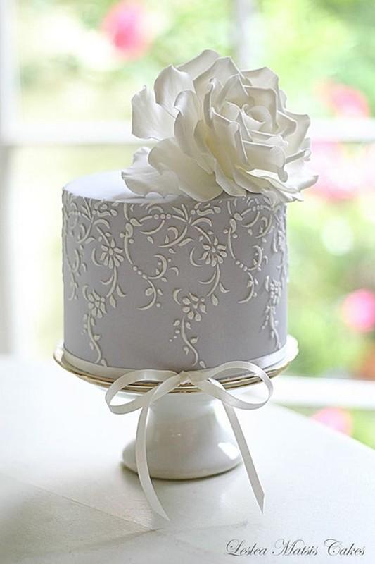bolo para festa de bodas de prata