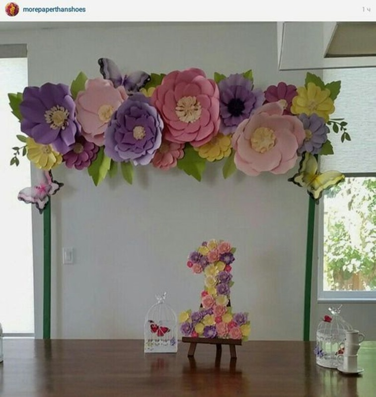 giant flower - flor gigante - diy