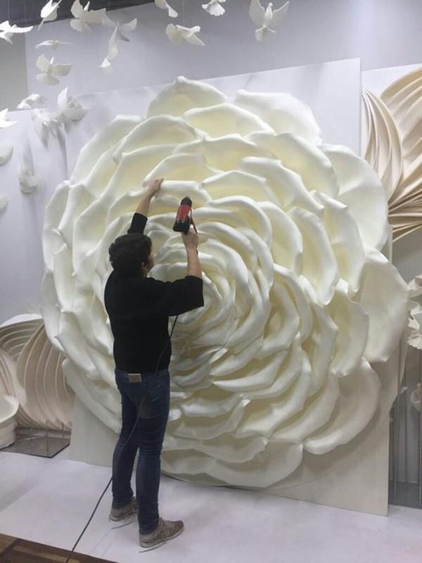 giant flower - flor gigante