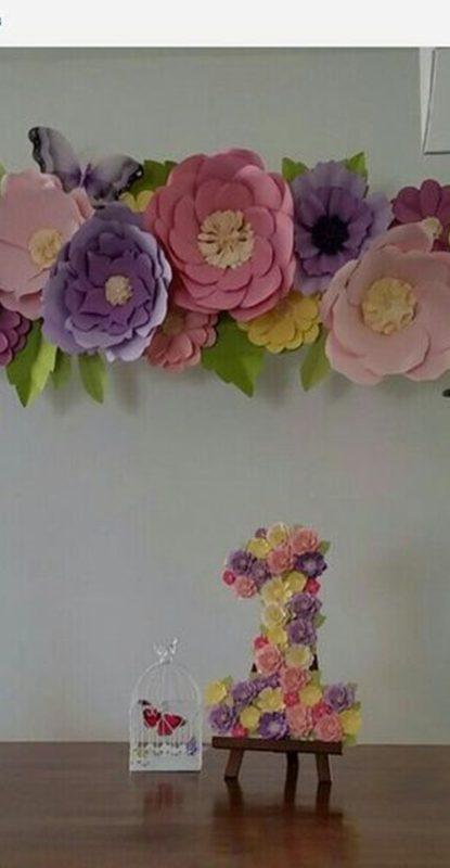 giant flower - flor gigante - diy
