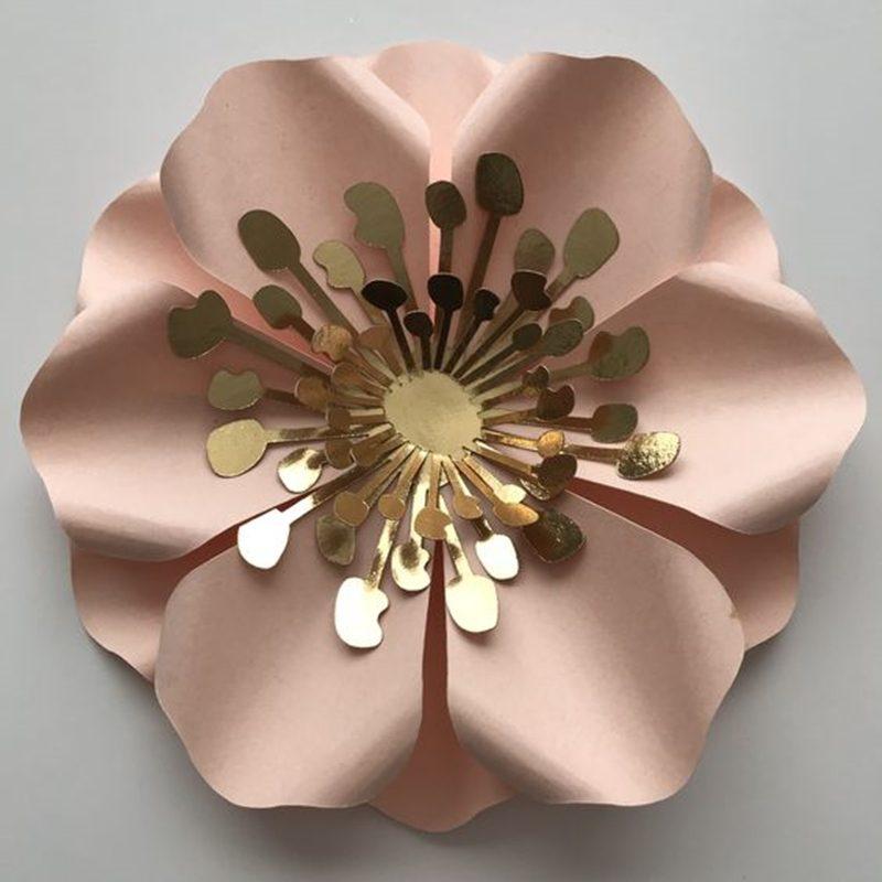 flor de papel gigante - giant flower