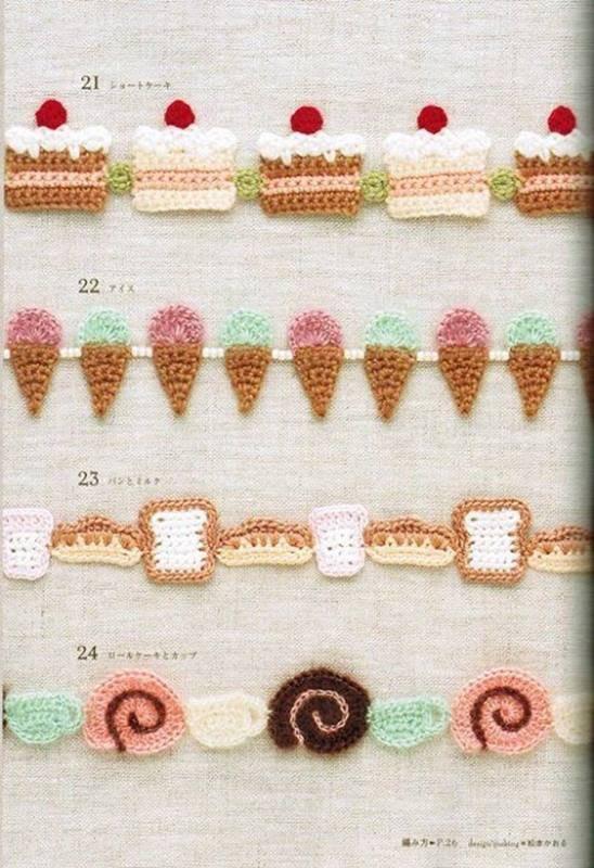 Faça você mesma - Bicos de Crochê