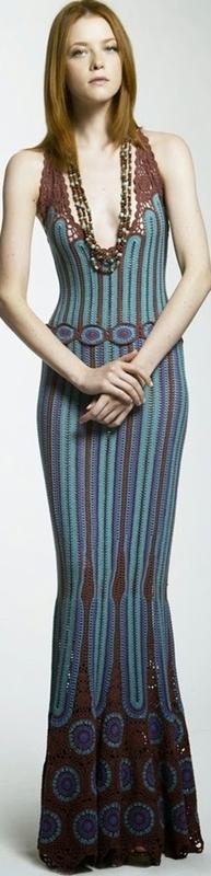 Vestido de crochê - crochet dress