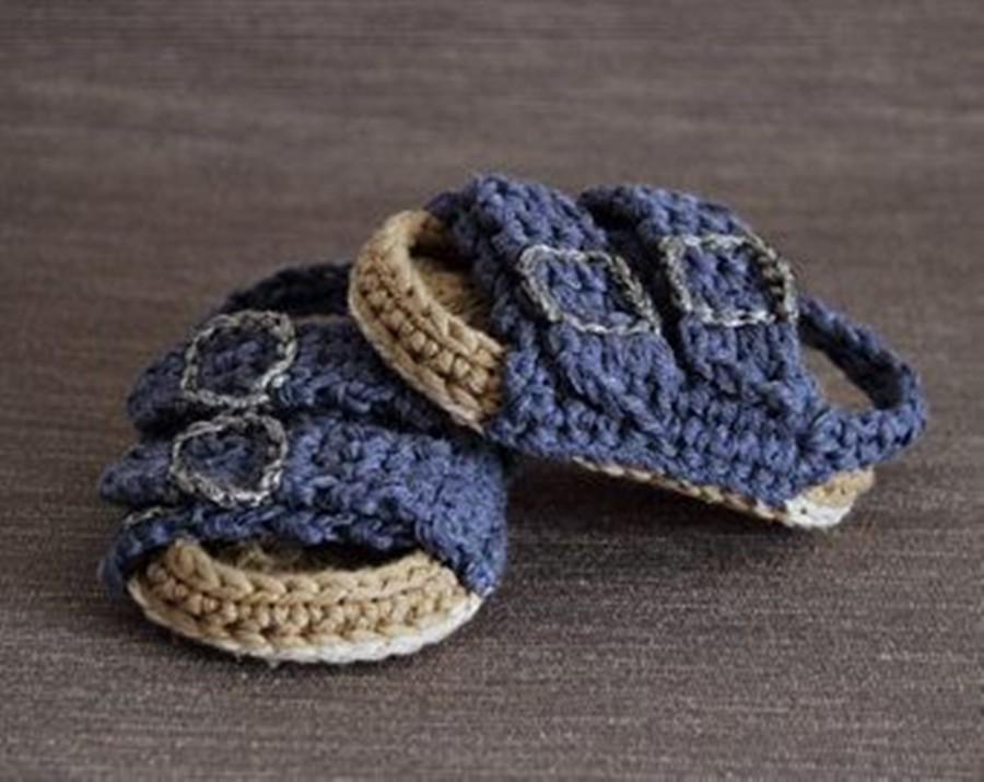 Diy - sapatinho de bebê - sandália