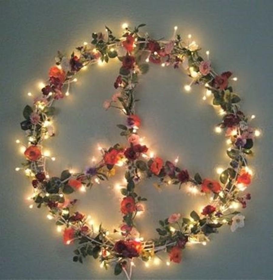 DIY Decor : Paz e Amor - o símbolo da Paz