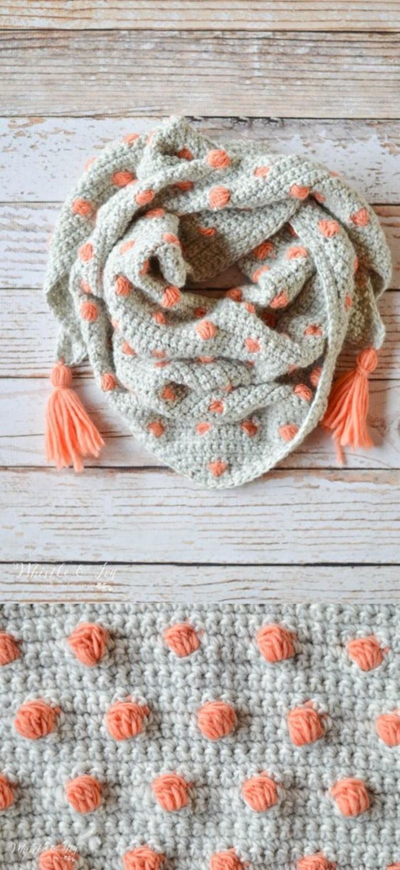 DIY cachecol de tricô - inverno 2018