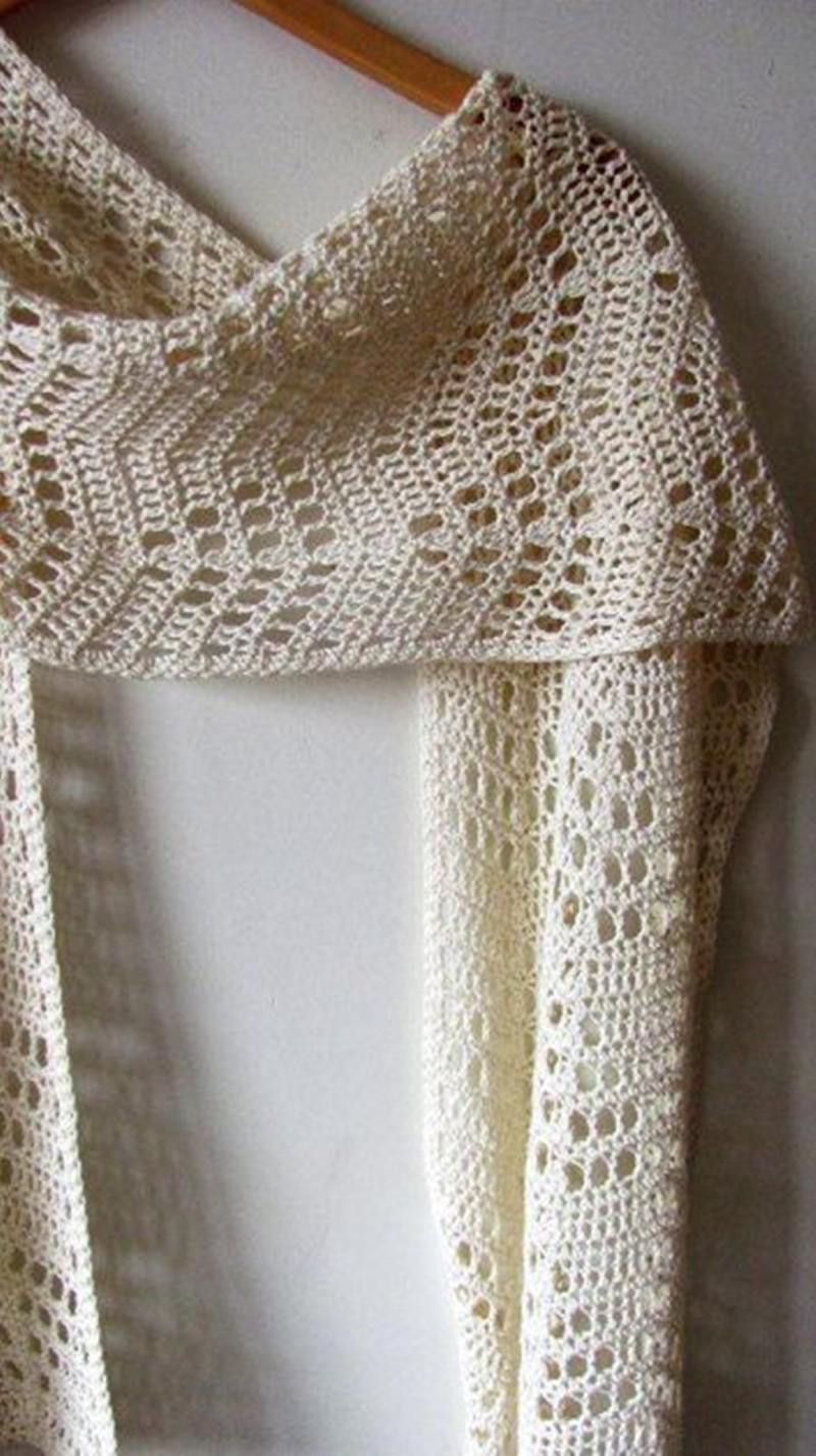 DIY cachecol de crochê - inverno 2018