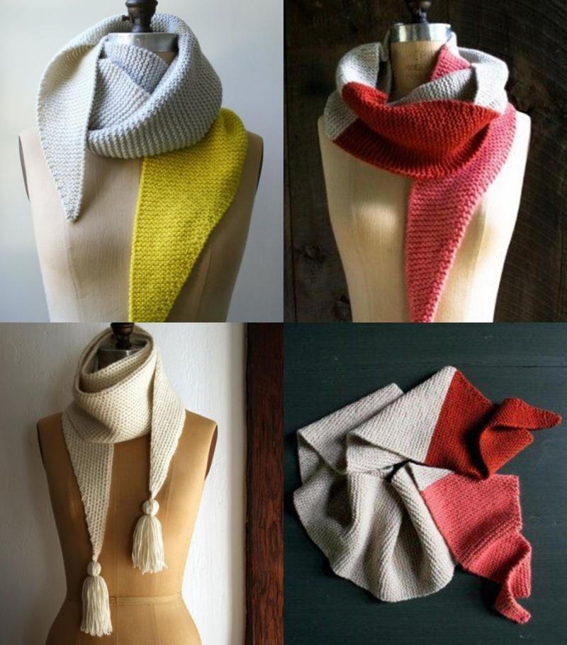 DIY cachecol de tricô - inverno 2018 www.defrenteparaomar.com