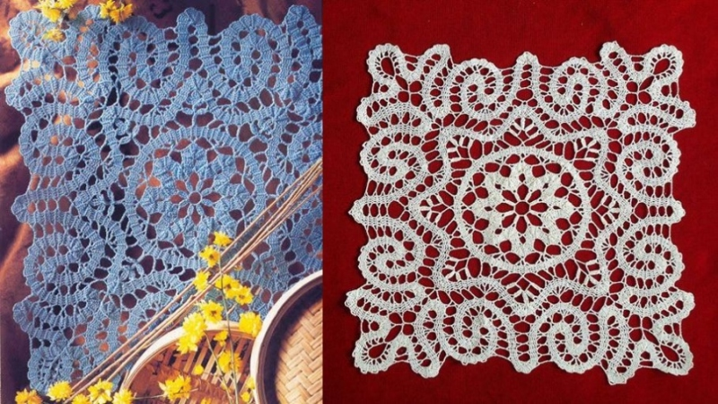 DIY - Lindas toalhas com crochê de Bruges