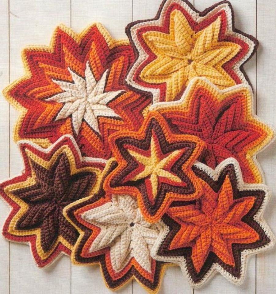 O segredo do ponto zig-zag em croche virar estrela - www.defrenteparaomar.com