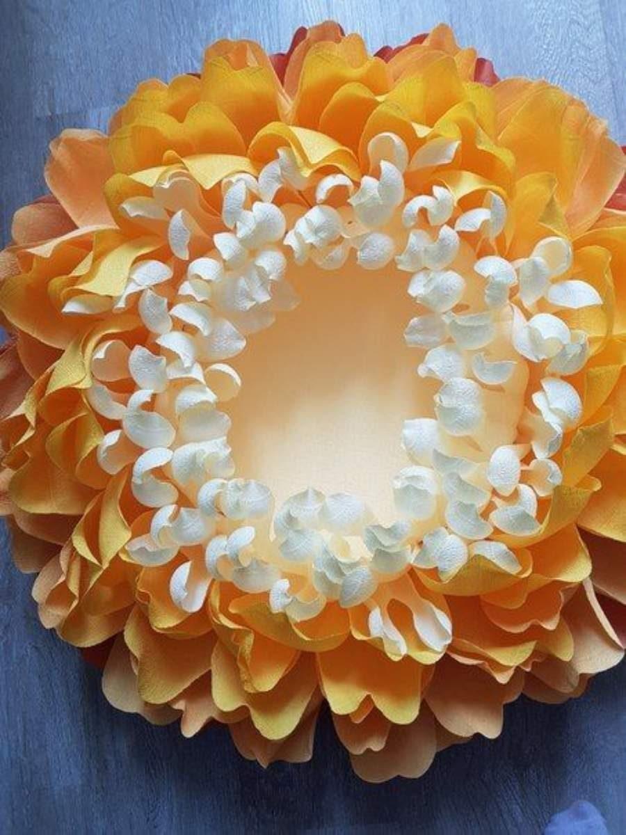 10 ideias de flor gigante de papel para fotografar  newborn
