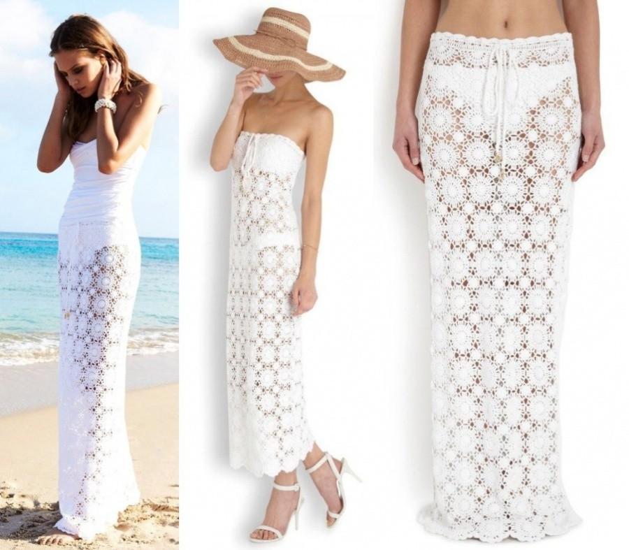 É verão! Faça sua saída de praia em crochê