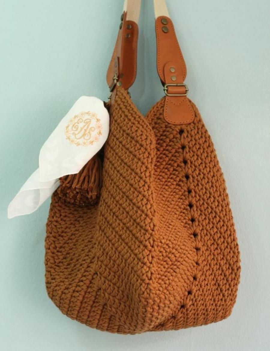 d9840bca5 DIY: Bolsa de crochê #1 ⋆ De Frente Para O Mar