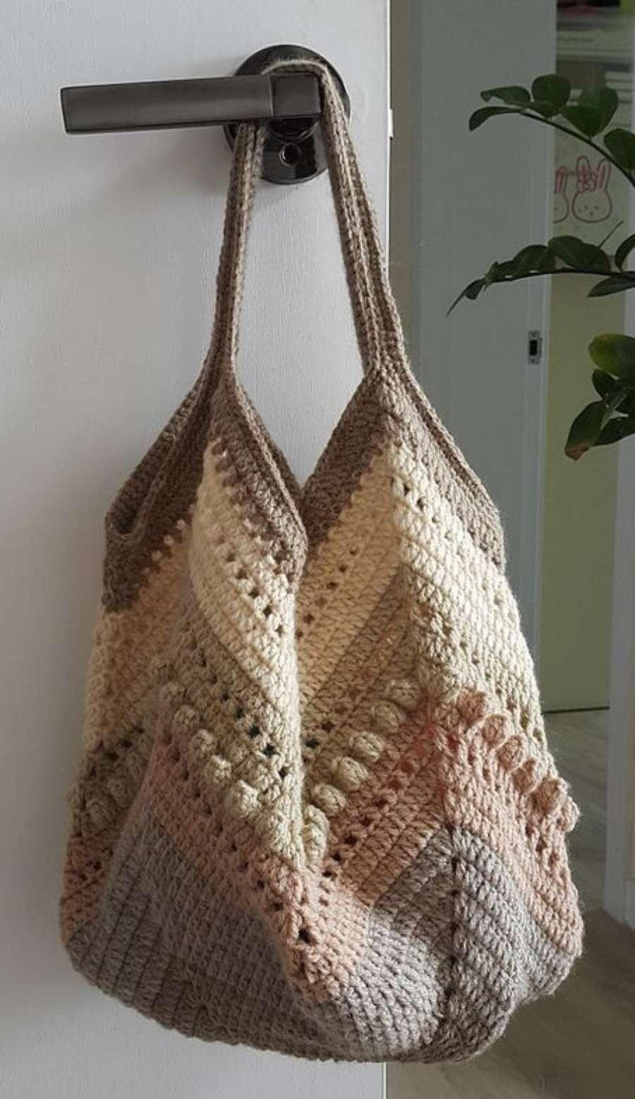 DIY: 12 Ideias de bolsa de crochê #1 +Dicas